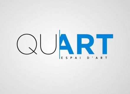 Creación de marca galeria de arte Quart