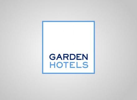 Creación y desarrollo rediseño  imagen corporativa Garden Hotels