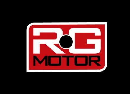 Diseño de logotipo y desarrollo de imagen corporativa. RG Motor