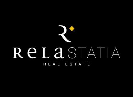 Relastatia Real Estate. Diseño e imagen corporativa.